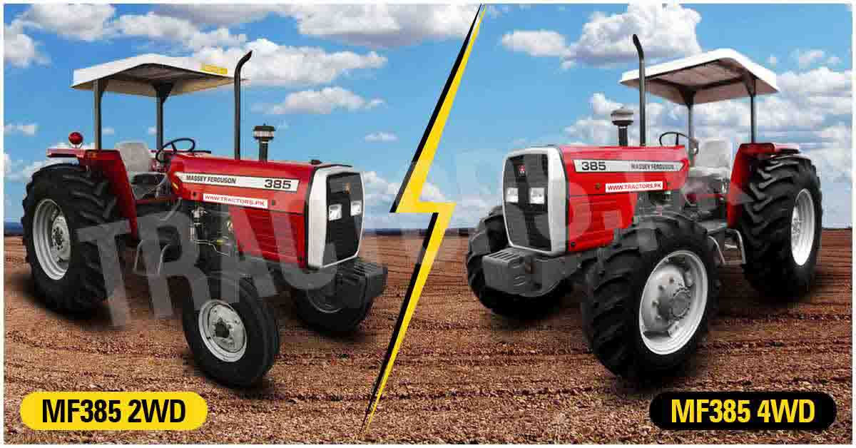 2WD and 4WD Tractors