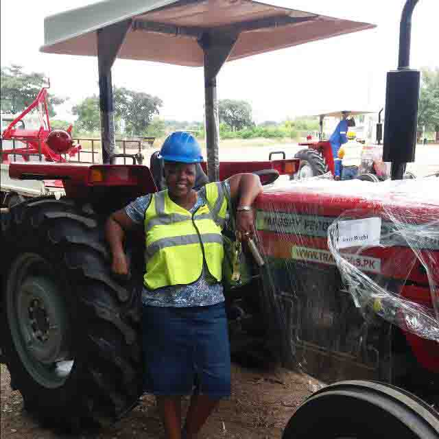 Tractor Customer in Botswana