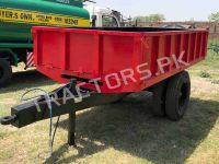 Hydraulic Tripping Trailer