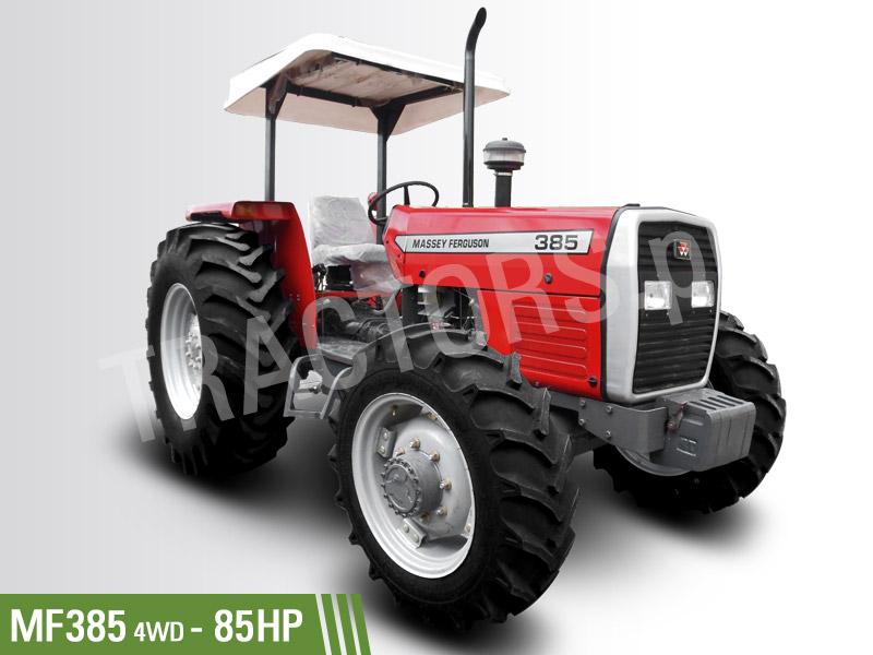 Massey Ferguson MF-385 4WD 85hp Tractors